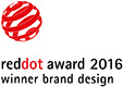 reddot award 2016 winner brand design